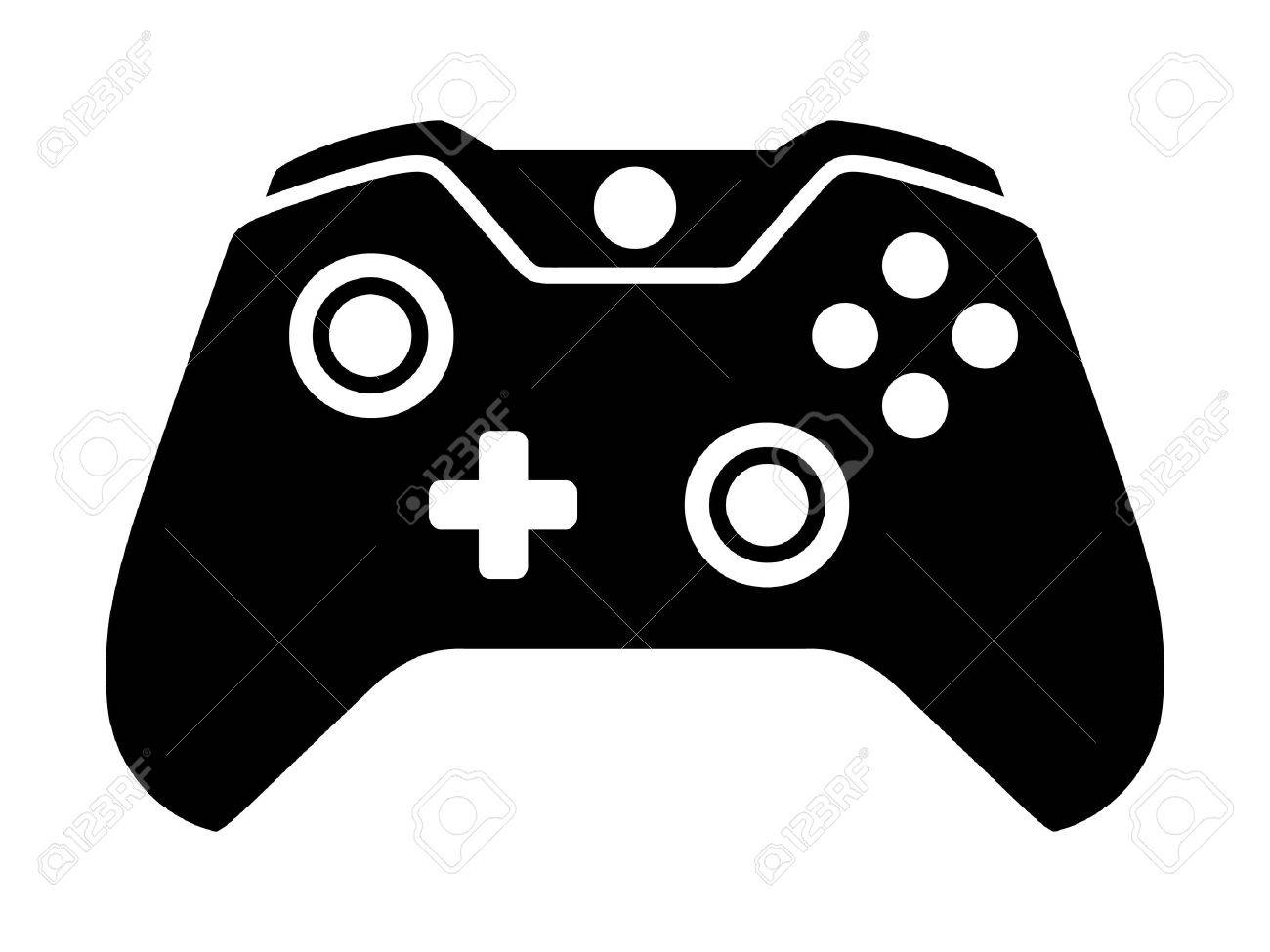 graphic Controller clipart. Gaming station .