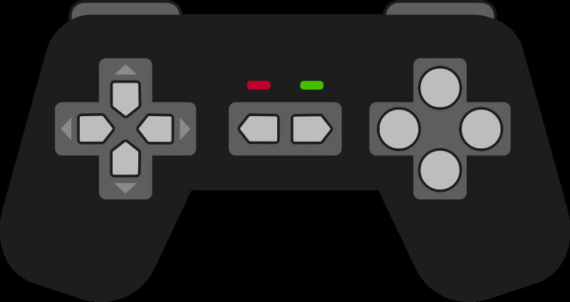 image transparent stock Controller clipart. Game clip art panda