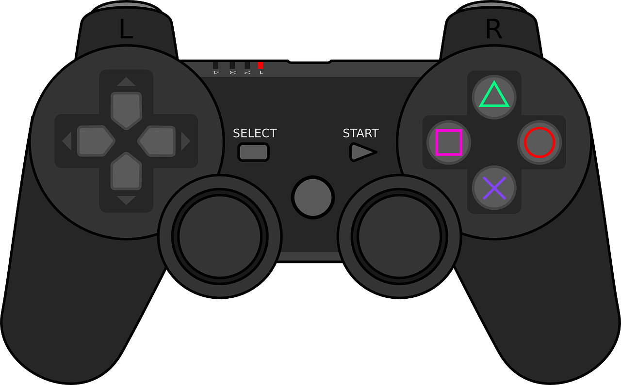 svg library video game console clipart #63964209