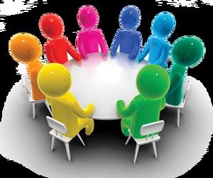 free stock Group clipart group conversation. Focus clip art university