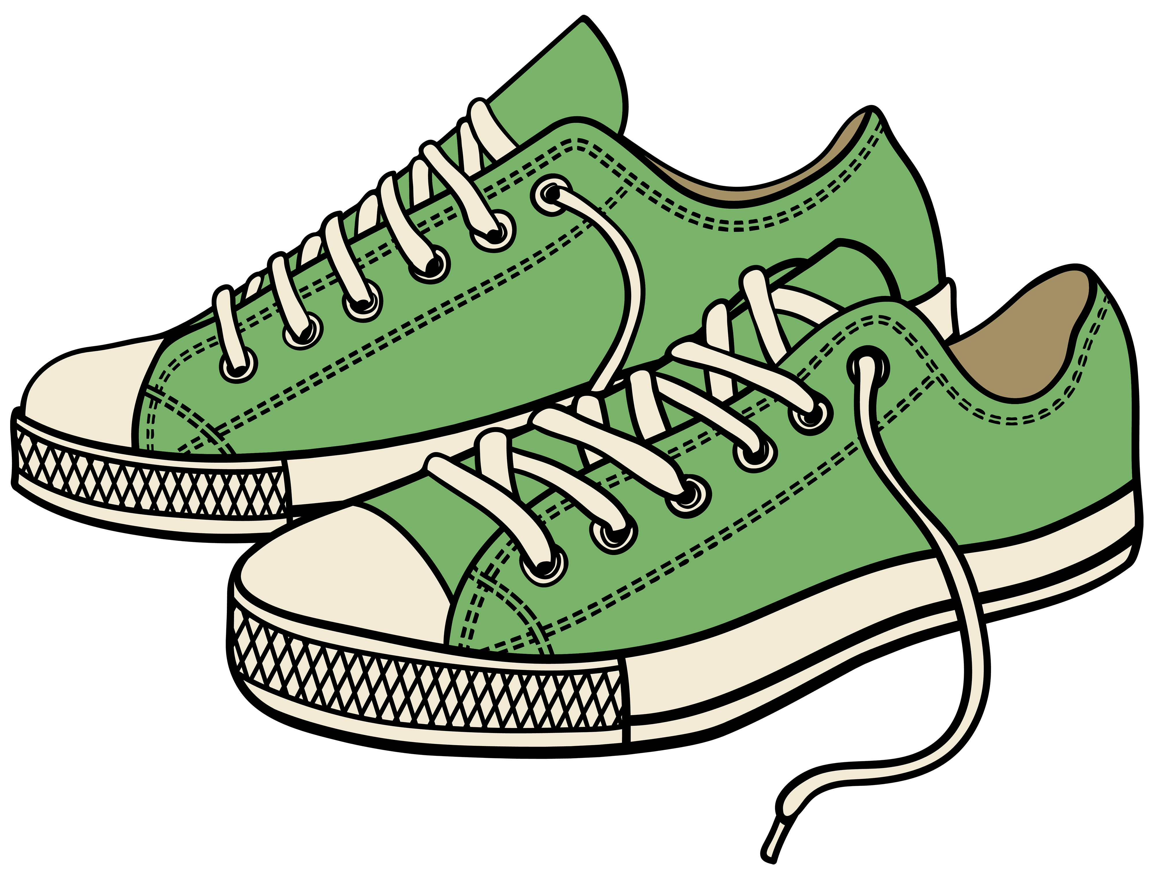 graphic freeuse library Converse clipart. Tennis shoe free on