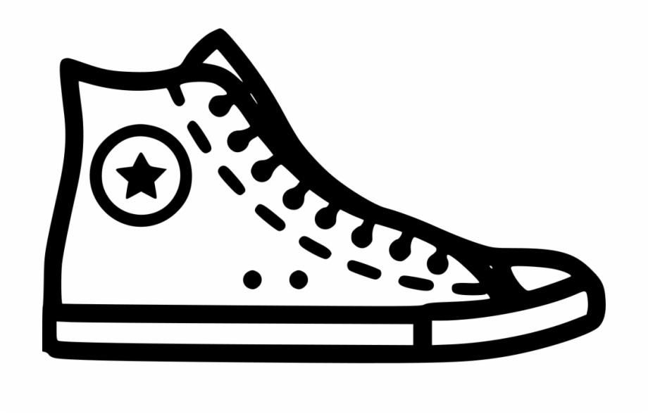 clip free stock Shoe png free images. Converse clipart.