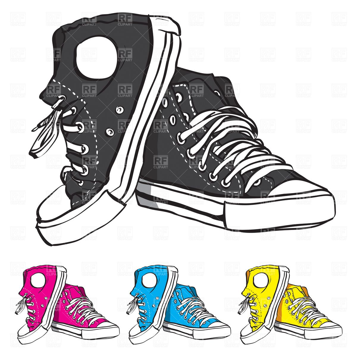 banner black and white download Clip art catalog beauty. Converse clipart.