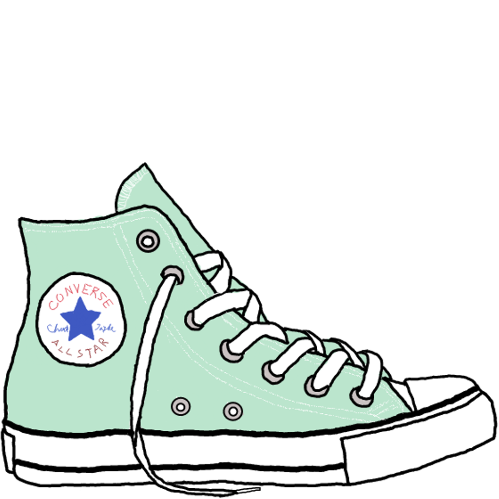 clipart freeuse download Free download best on. Converse clipart.
