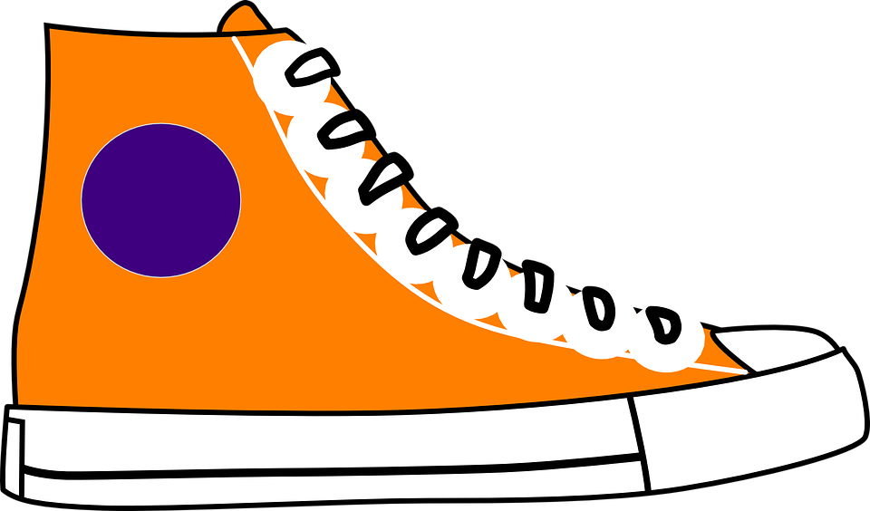 graphic freeuse library Tennis shoe free on. Converse clipart.