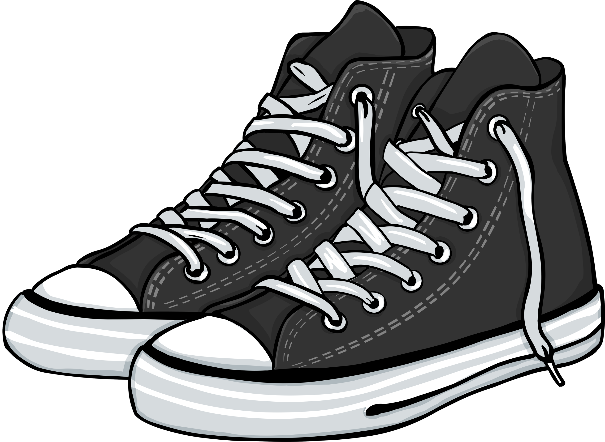 picture black and white library Converse clipart. Shutterstock png pinterest clip.