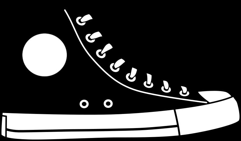 banner free Converse clipart big shoe. Medium image png