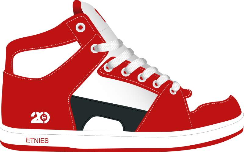 free stock Converse clipart big shoe. A history of skate