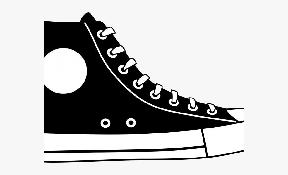banner Converse clipart gym shoe. Running shoes pair cartoon