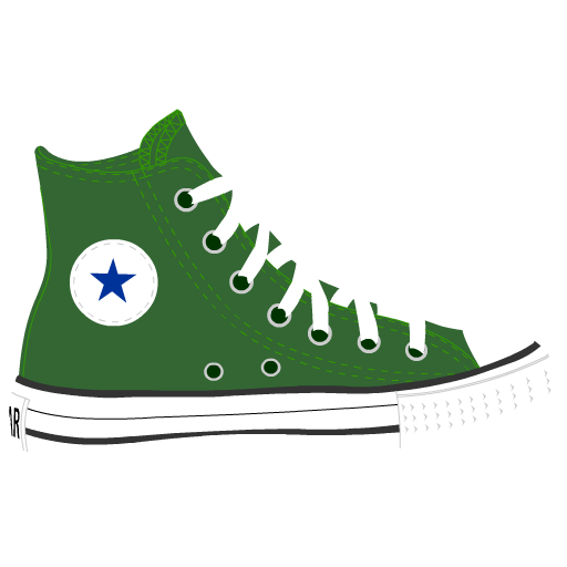 graphic transparent stock Converse