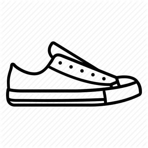 clip art transparent library Drawing sneakers sneaker. Collection of free converse