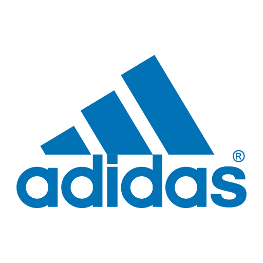 clip royalty free stock Adidas logo in