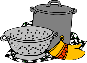 clip art free download Cooking Pans Glove Clip Art at Clker