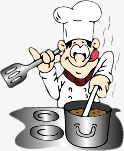 graphic freeuse download Cooked clipart cookin. Cooking cooks in oven