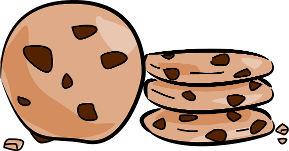 picture royalty free download Panda free images chocolatechipcookieclipart. Cookie clipart chocolate chip cookie