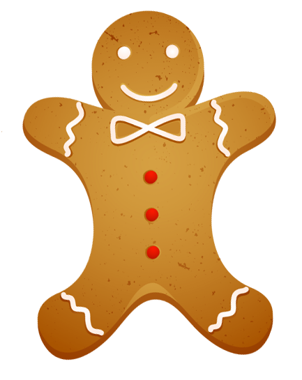 clipart freeuse Transparent Christmas Gingerbread Cookie PNG Clipart