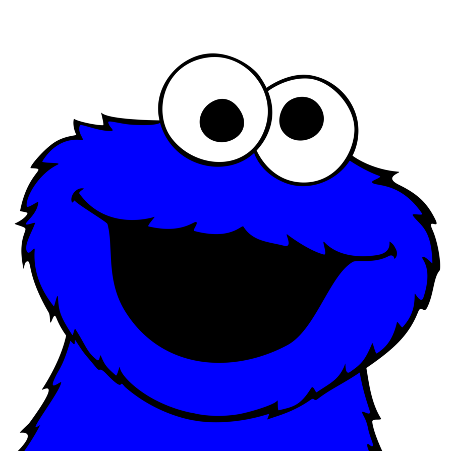graphic library library Eyeballs clipart cookie monster. Pictures vector by plzexplode