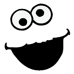 vector download Silhouette at getdrawings com. Eyeballs clipart cookie monster
