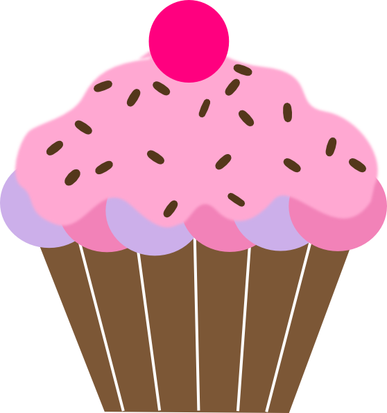 royalty free download Cupcake clip art doces. Muffin clipart school.