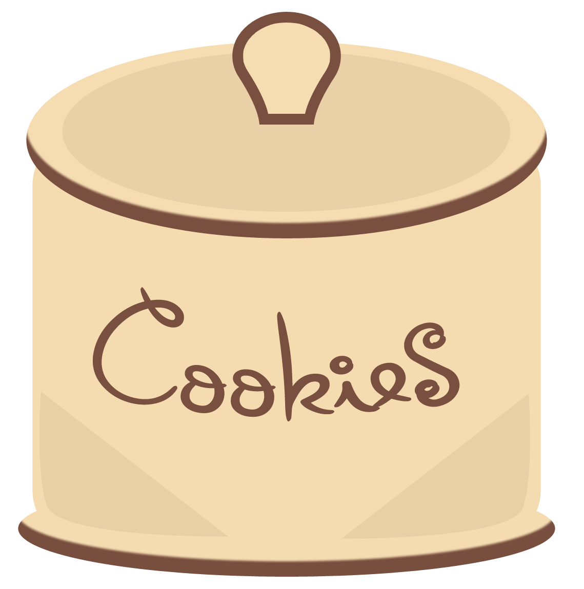 banner transparent library Cookie Jar Clipart