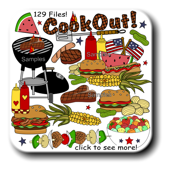 svg black and white library Cookout clipart. For digital printables and