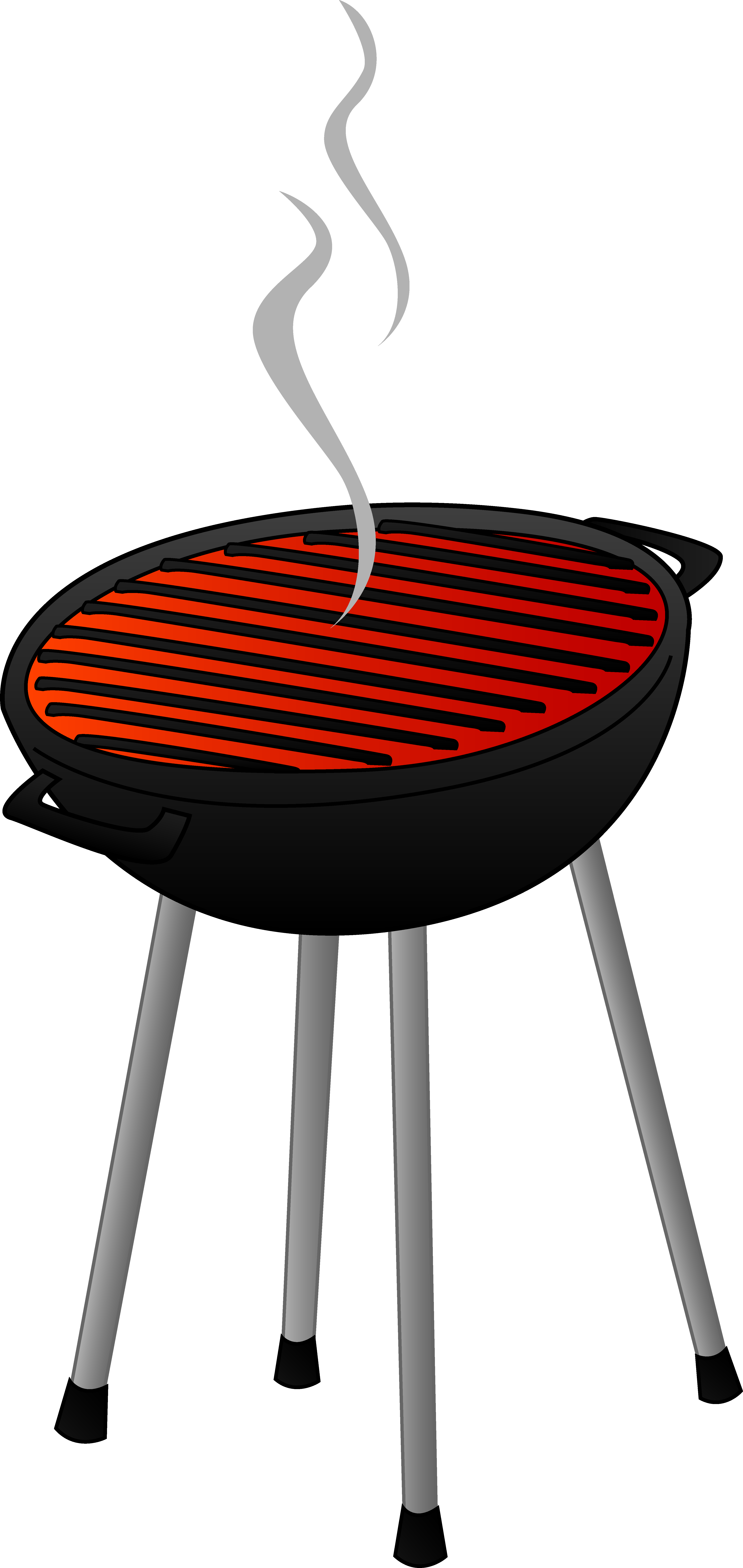 clip free Family bbq panda free. Grilled clipart.