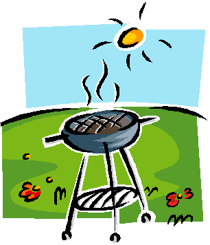 clip black and white download Cookout Clipart