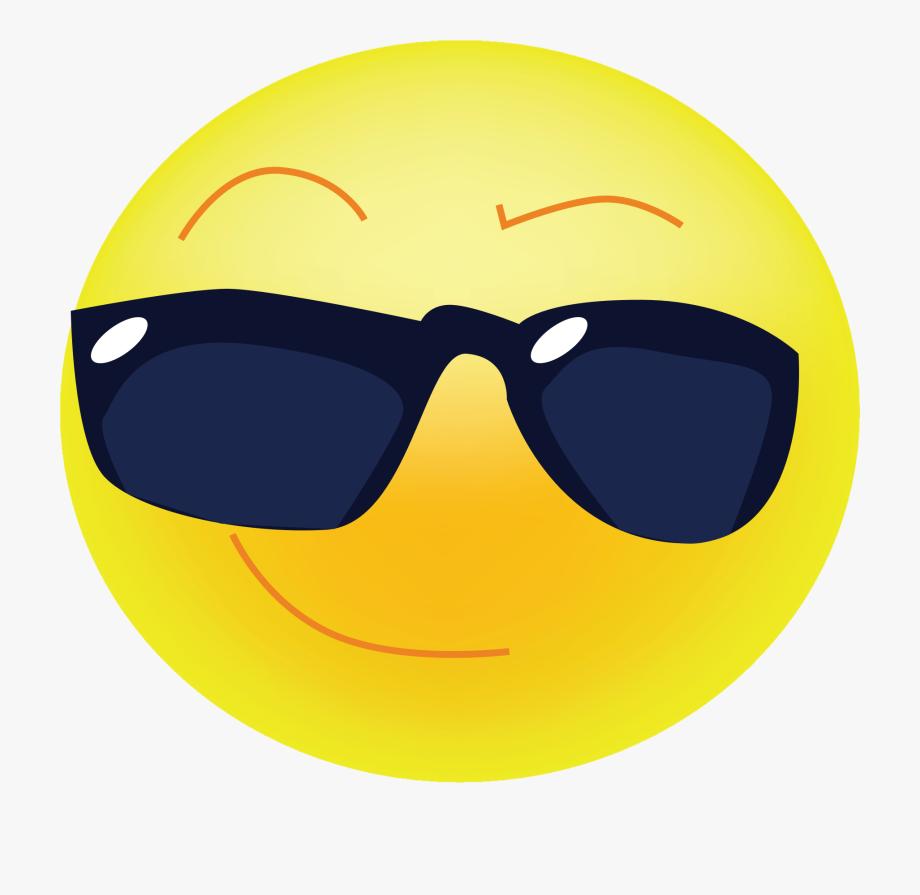clip art black and white Cool clipart. Sunglasses emoji transperent emoticon