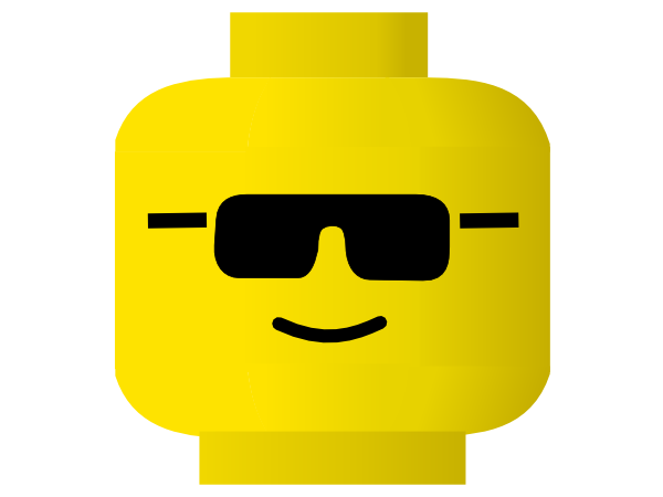 transparent library Cool clipart. Glass emoji lego face.