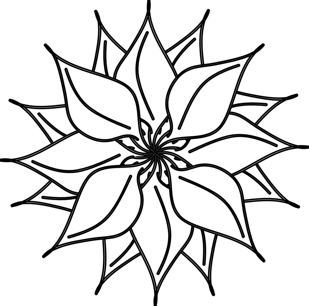 banner library Cool clipart black and white. Flower flowers free business