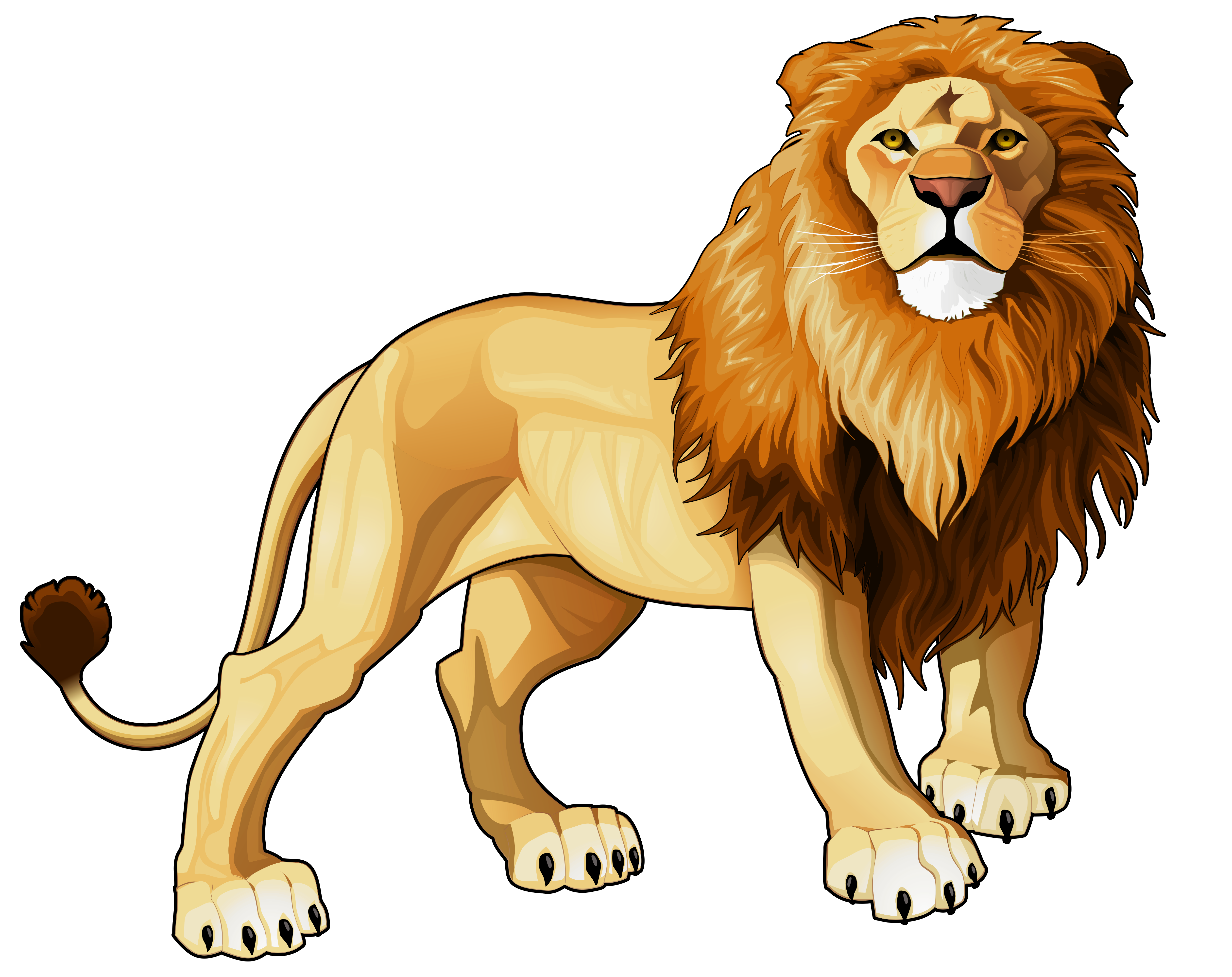 clipart freeuse stock Lion clipart christmas. Png best web.