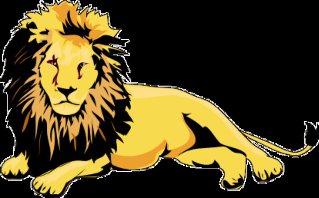 jpg transparent Wild animal frames illustrations. L clipart lion.