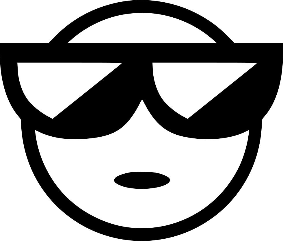 jpg royalty free library Cool Man Boy Styled Smile Smiley Svg Png Icon Free Download