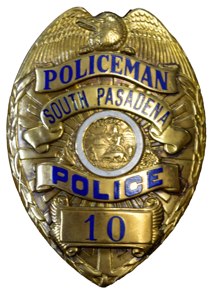 image free stock Reduced picture of a. Cop badge clipart
