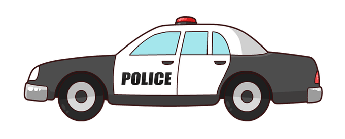 image free download Police pictures cartoon siewalls. Cop car clipart