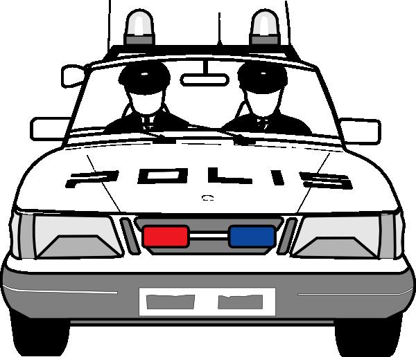 vector stock Police Car Clip Art at Clker