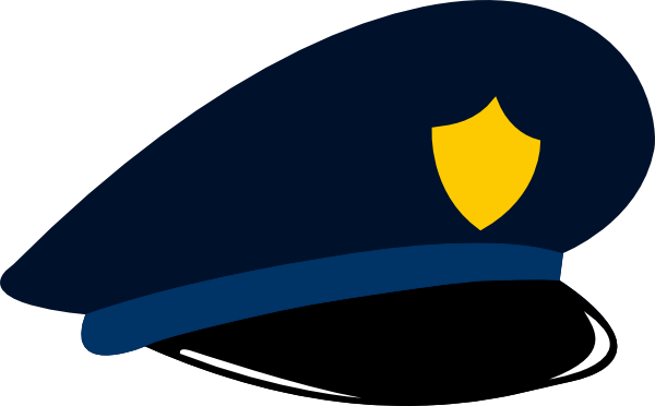 vector transparent stock Police Hat Drawing at GetDrawings