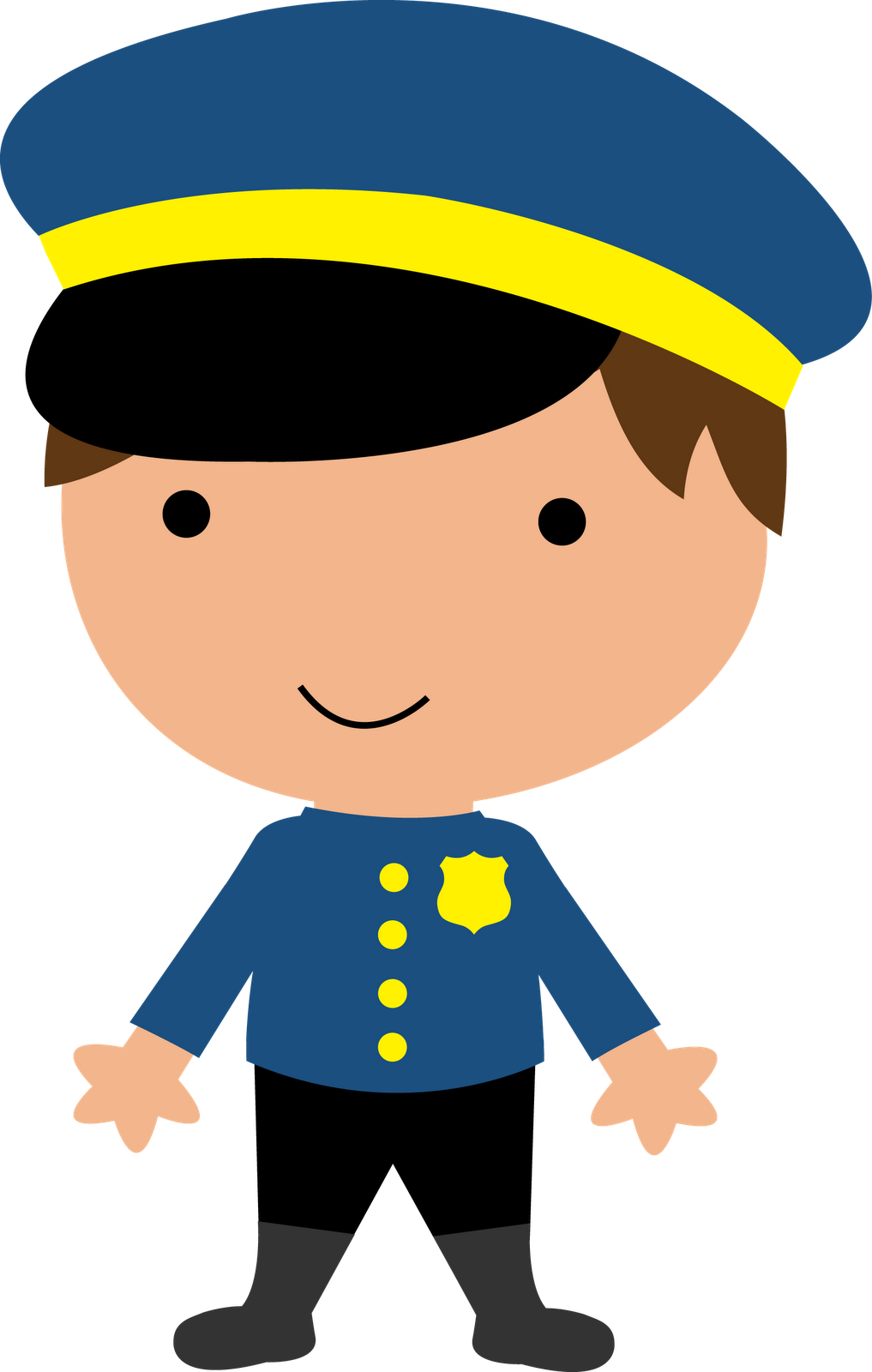 image Policeman theme workers and. Officer clipart community worker