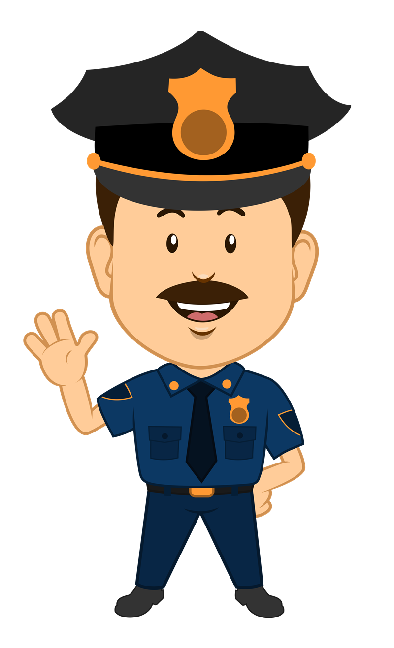image Male clipart uniform.  collection of police.