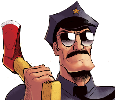 png free AXE COP