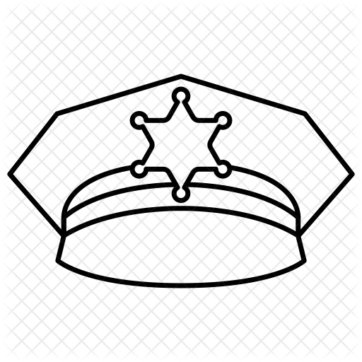vector royalty free stock cop drawing gangster #111005360