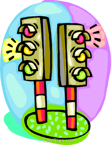 svg library download traffic lights Royalty Free Vector Clip Art illustration vc