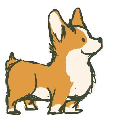 graphic royalty free download Corgi clipart. Free cliparts download clip.