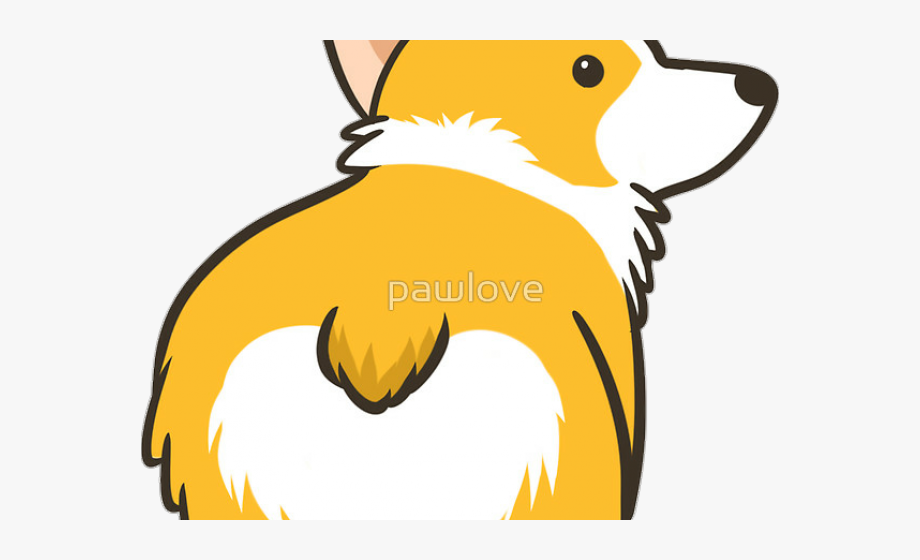 jpg freeuse Sad sticker dog free. Corgi clipart.