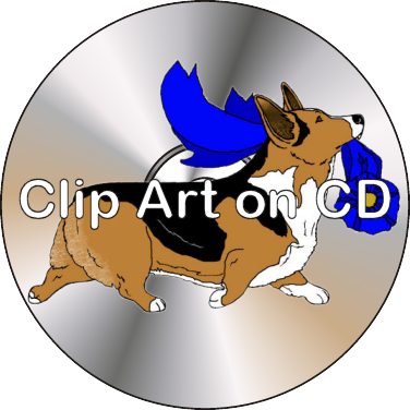image freeuse download Corgi clipart. Clip art on cd.