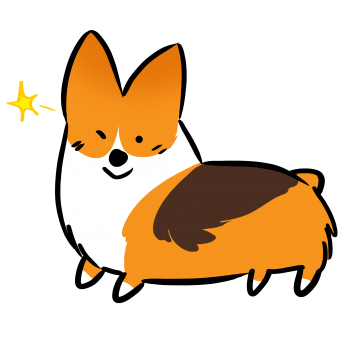 png freeuse Announcements archives things corgiwink. Corgi clipart sticker