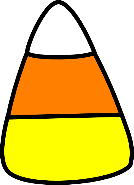 clipart free download Quilted Candy Corn Clipart
