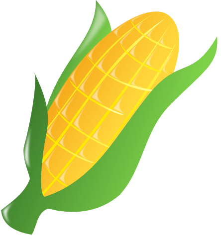 vector free library Corn Clipart