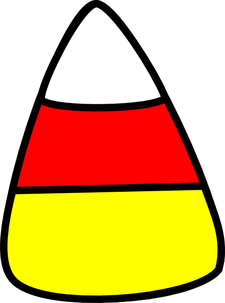 svg black and white download Candy corn clipart. Clip art at clker.