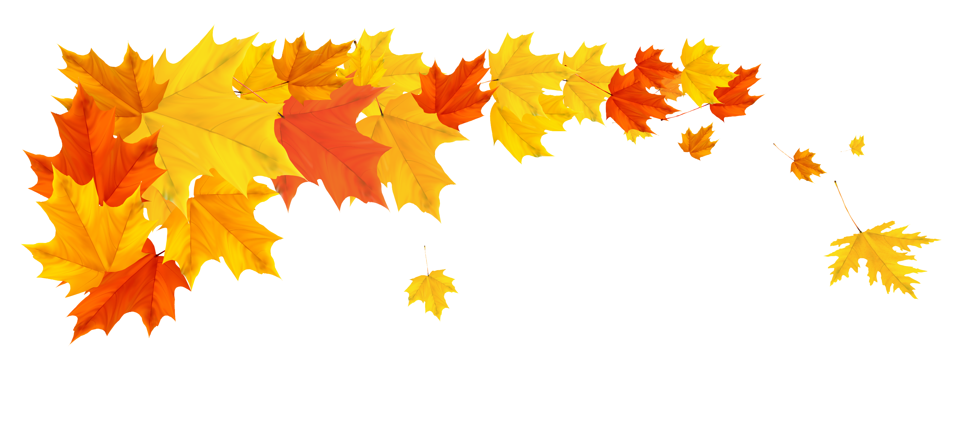 vector black and white download Fall background clipart. Orange leafs png picture